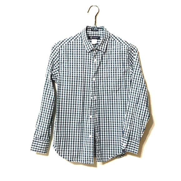 NWT Gymboree Boys Camp Dress Shirt Button Up Formal Oxford Top NEW
